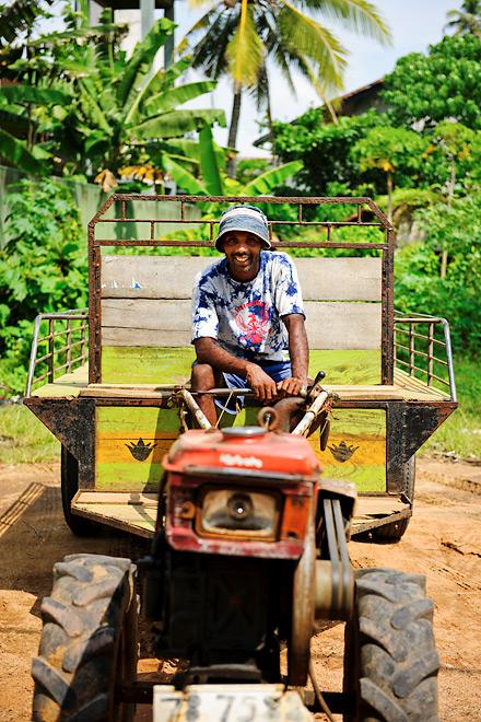 Sri lankan farmer